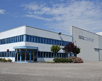 Sede stabilimento produzione polistirolo Isolconfort san vito al tagliamento pordenone pn