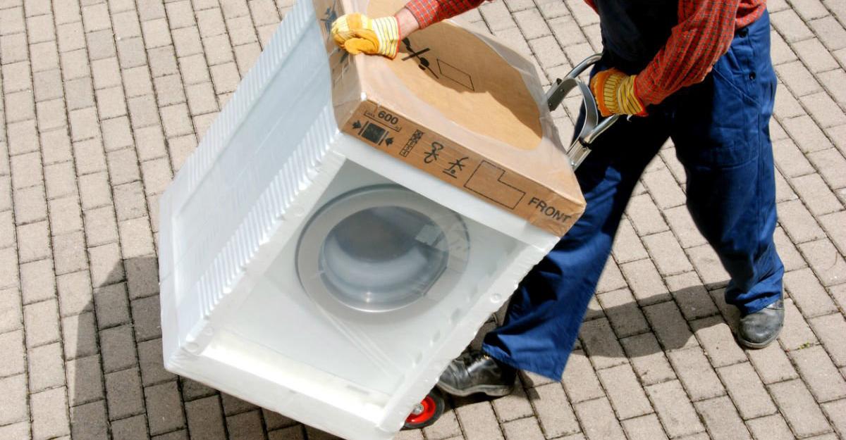 imballaggi in polistirolo per elettrodomestici mobili
